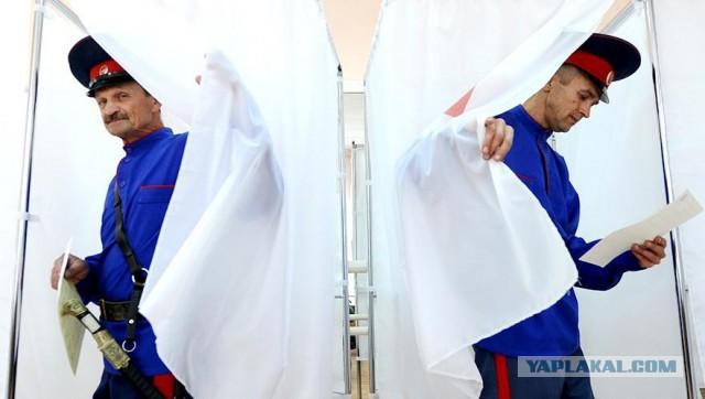 Около 60 тысяч казаков обеспечат соблюдение порядка на президентских выборах, кроме Чечни и Ингушетии