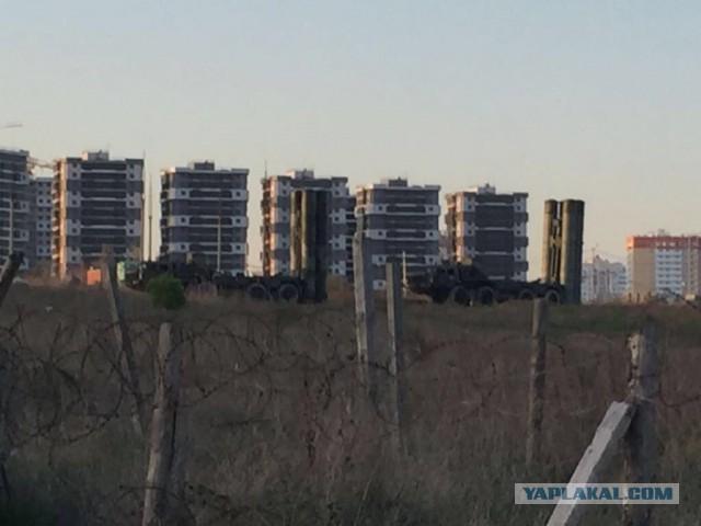 В Новороссийске развернули батарею ПВО