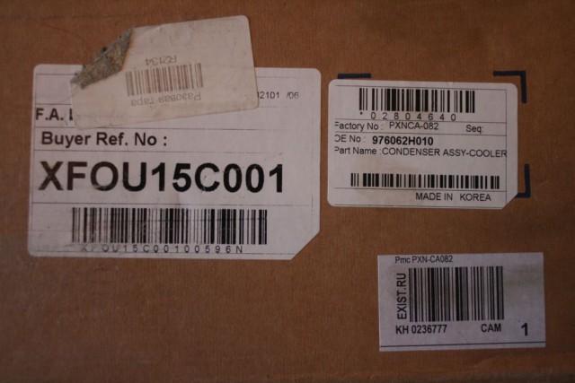 Продам радиатор кондиционера для KIA CEED 2008 diesel/AT