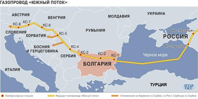 Президент Болгарии заявил, что страна нуждается в прямых поставках российского газа