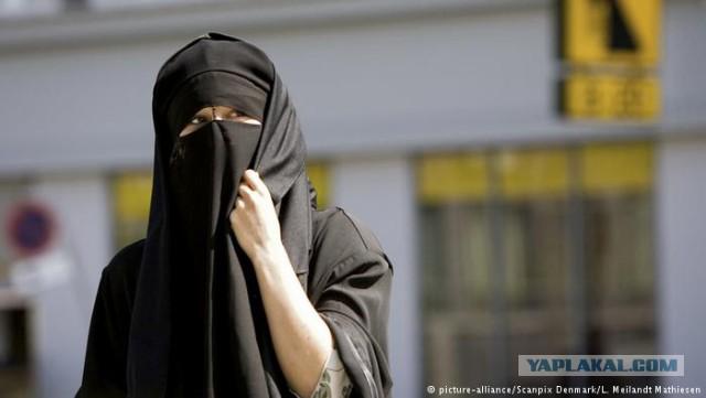 В Дании с 1 августа запрещено закрывать лицо в общественных местах