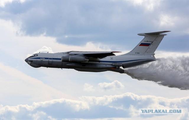 Минобороны направило в Красноярский край авиагруппировку для тушения пожаров