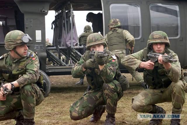 НАТО хочет развернуть войска на границе с Россией