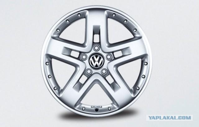 Продам диски на VW Touareg R20
