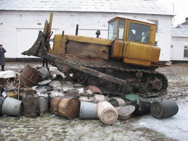 Уничтожение самогонных аппаратов