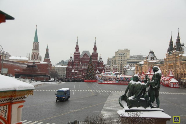 Взрыв на Красной площади