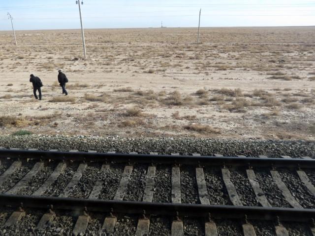 Железная дорога Устюрта или Поезд через пустоту
