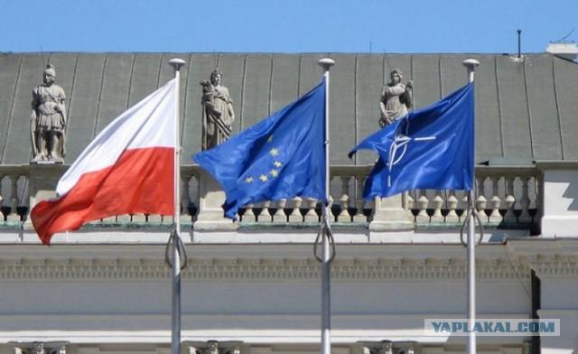 В Польше захватили здание НАТО