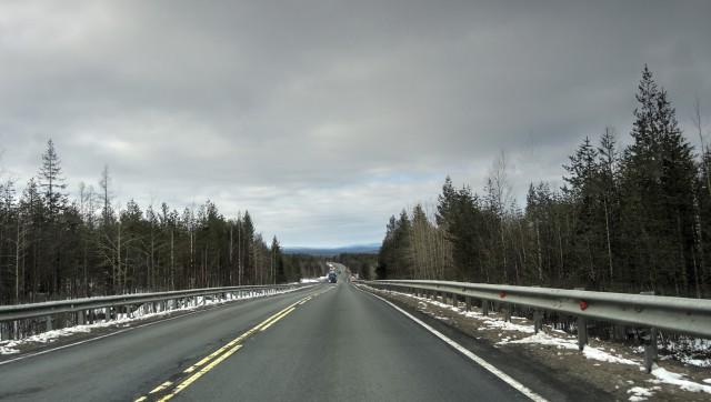 На крайний Север на Logan