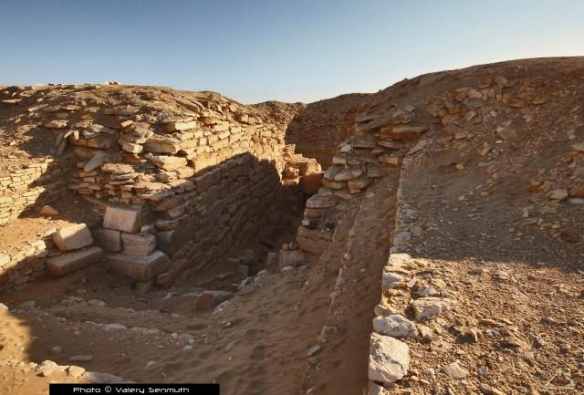 Незавершенные пирамиды Древнего Египта