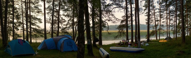 Сплав по реке Угра