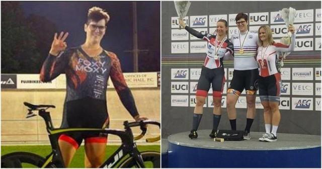 """Трансгендер выиграл турнир по велоспорту среди женщин и многие посчитали это """" немного несправедливым"""""""