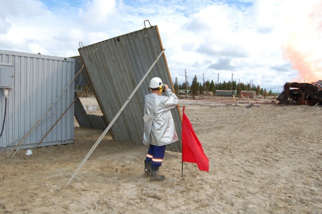 Ликвидация открытого фонтана на скважине № 506 Западно-Таркосалинского НГКМ