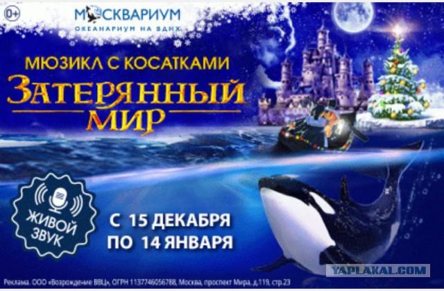 Билеты на Елку в Москвариум на Шоу «Затерянный мир»