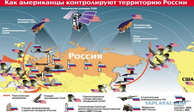 Минобороны России: США намерены развернуть 400 ракет системы ПРО у границ России