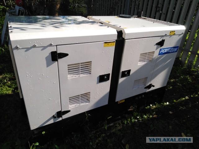 Дизель генератор Power Link 12-14 кВт с АВР