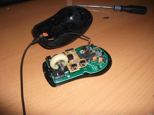 Ремонт беспроводной компьютерной мыши своими руками