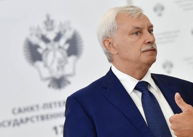 Путин отправил Полтавченко в отставку с поста губернатора Петербурга