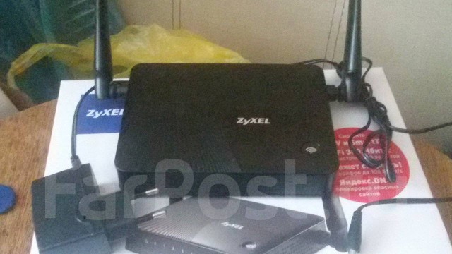 WiFi роутер Zyxel keenetic lite III
