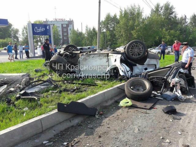 В Красноярском крае сын бизнесмена погиб в ДТП