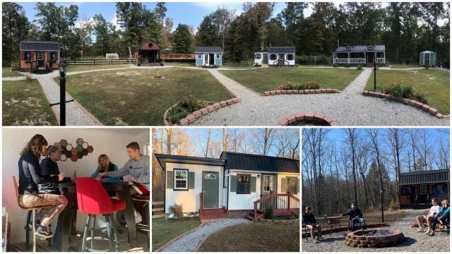 Американская семья построила частную деревню, где каждый ребёнок имеет свой собственный дом