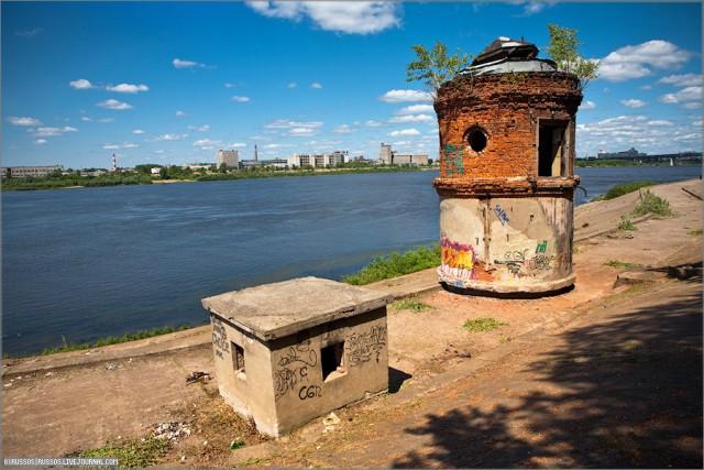 Заброшенная водокачка в Н. Новгороде