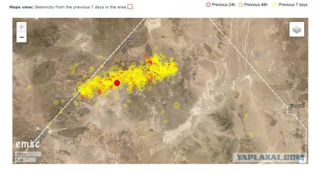 Я один такой подозрительный, или же всё-таки в пустыне Невады что-то испытывают?