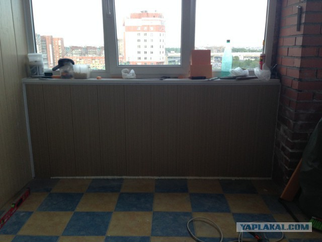 Рукожопим балкон