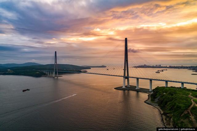 Владивосток с высоты: русский Сан-Франциско