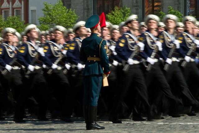 Парад на Красной площади 2010