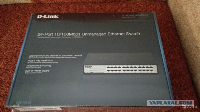 Продам D-link DES-1024C