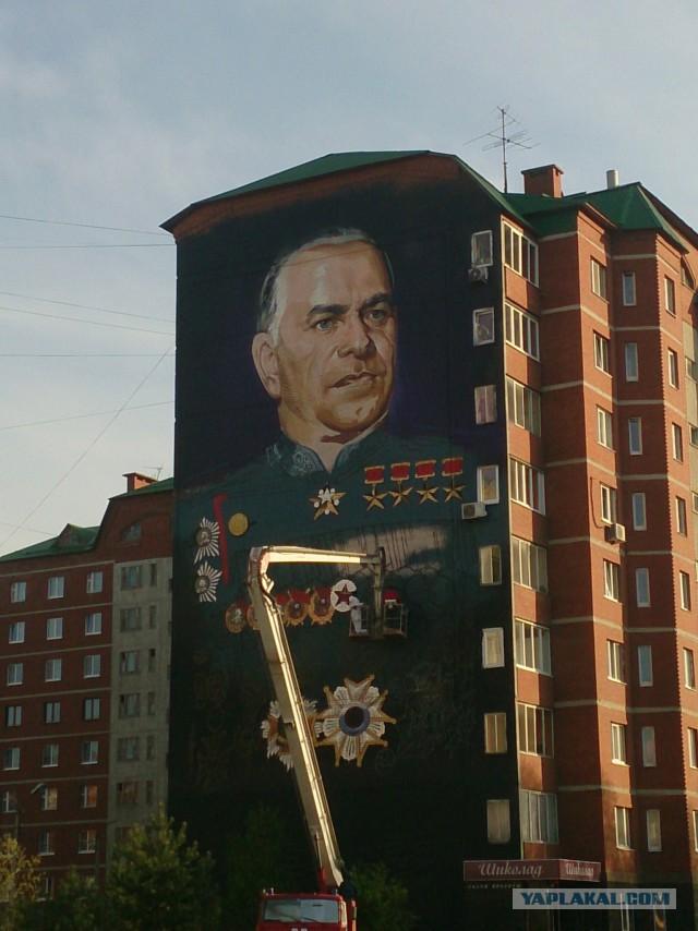 Уфа готовится ко Дню Победы