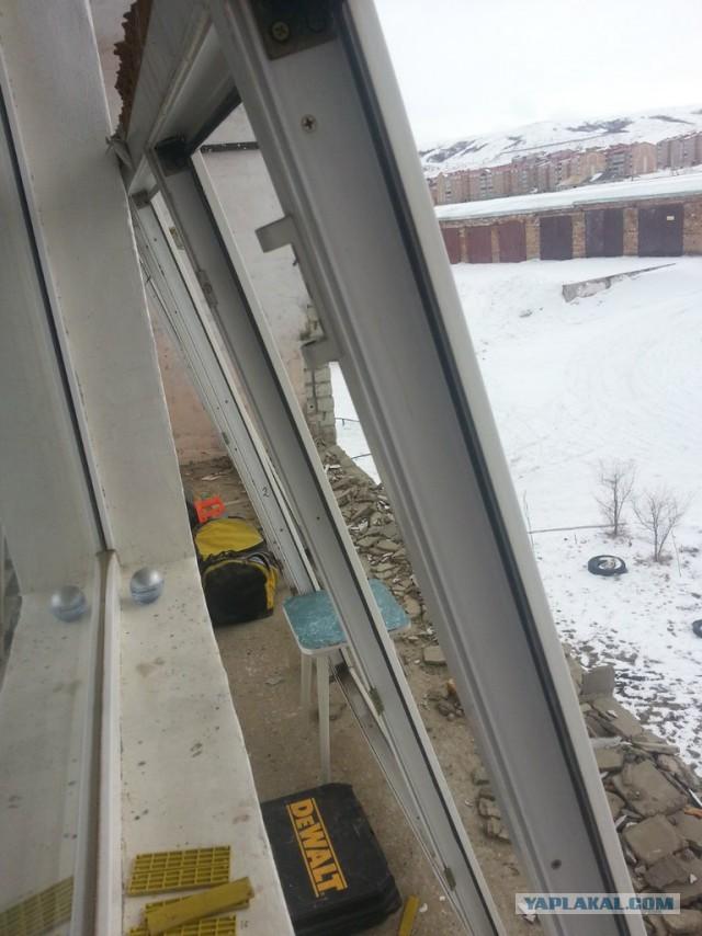 Как я балкон решил забабахать.