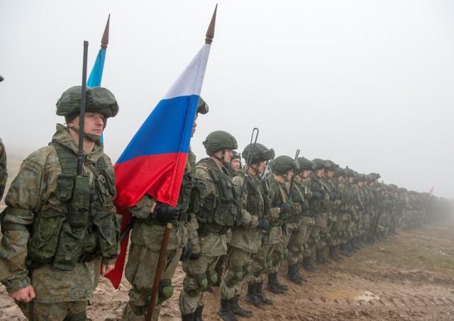 Путин подписал указ об увеличении численности российской армии