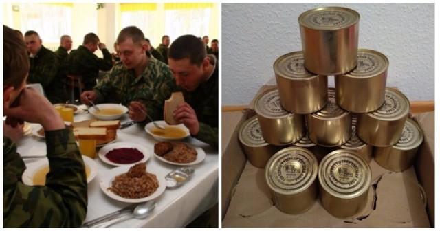 В армии отказались от тушенки и «мясорастительных консервов»
