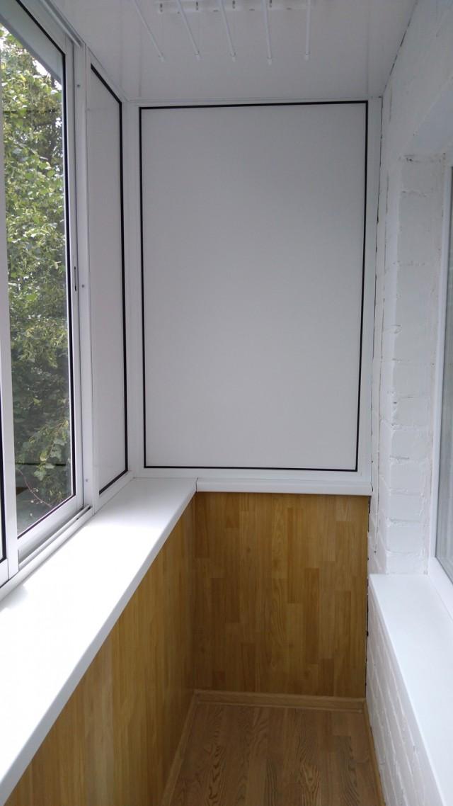 Ремонт балкона в хрущевке