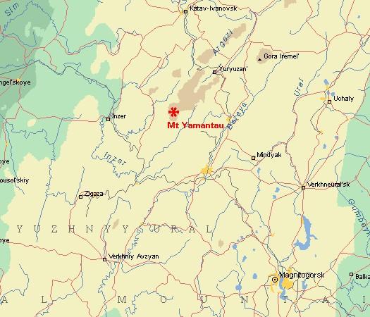 Ямантау-Секретный город правительства