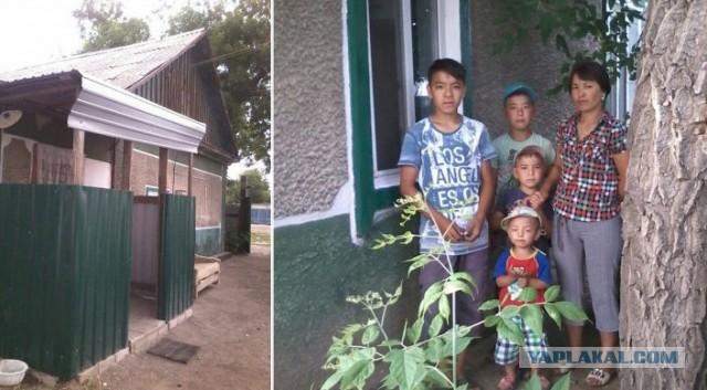 Неизвестные меценаты Павлодара подарили дом многодетной матери, оставшейся на улице после пожара