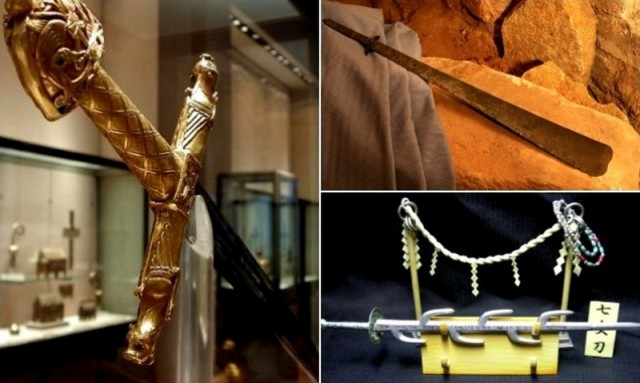 Меч в камне и оружие Карла Великого: легендарные клинки, которые оставили след в истории