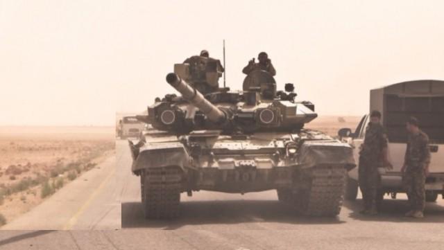 Террористы «Исламского государства» в ужасе: на Ракку пошли танки Т-90