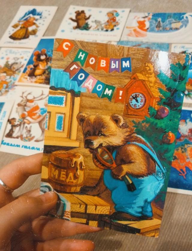Новогодняя сказка времён СССР