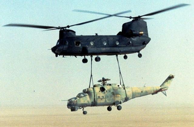 Как американцы на вертолете украли советский Ми-24
