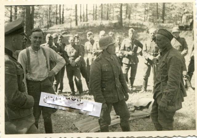 Неизвестный русский солдат. Фото июнь 1941
