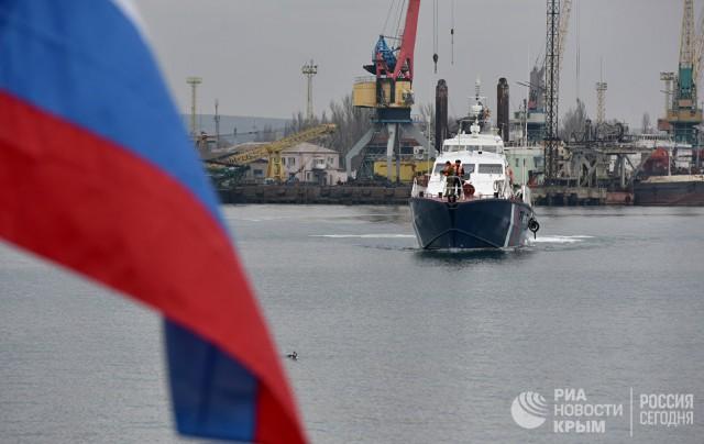 Стражи Крымского моста и морских рубежей страны