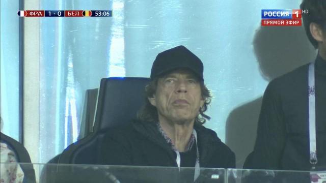 На матче Франция — Бельгия в Петербурге заметили Мика Джаггера