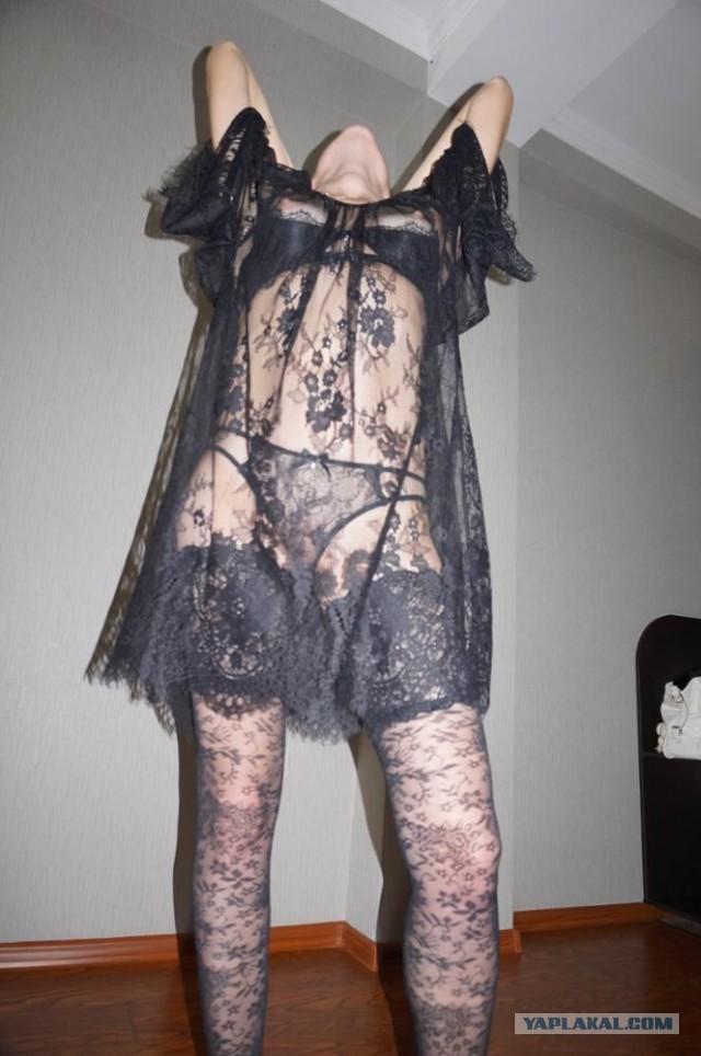 Фото сударынь с сайта алиэкспресс, примеряющих нижнее белье