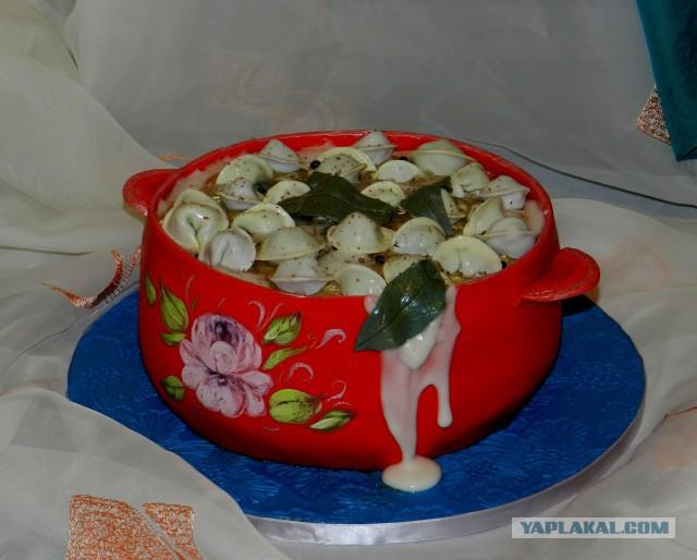 Торт кастрюля с пельменями пошагово фото