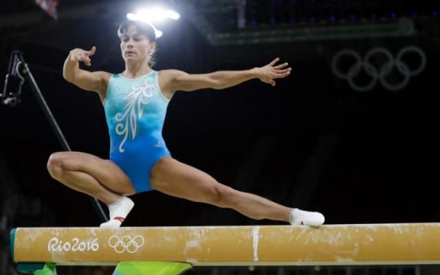 Оксана Чусовитина, Узбекистан, Спортсменке 41 год.