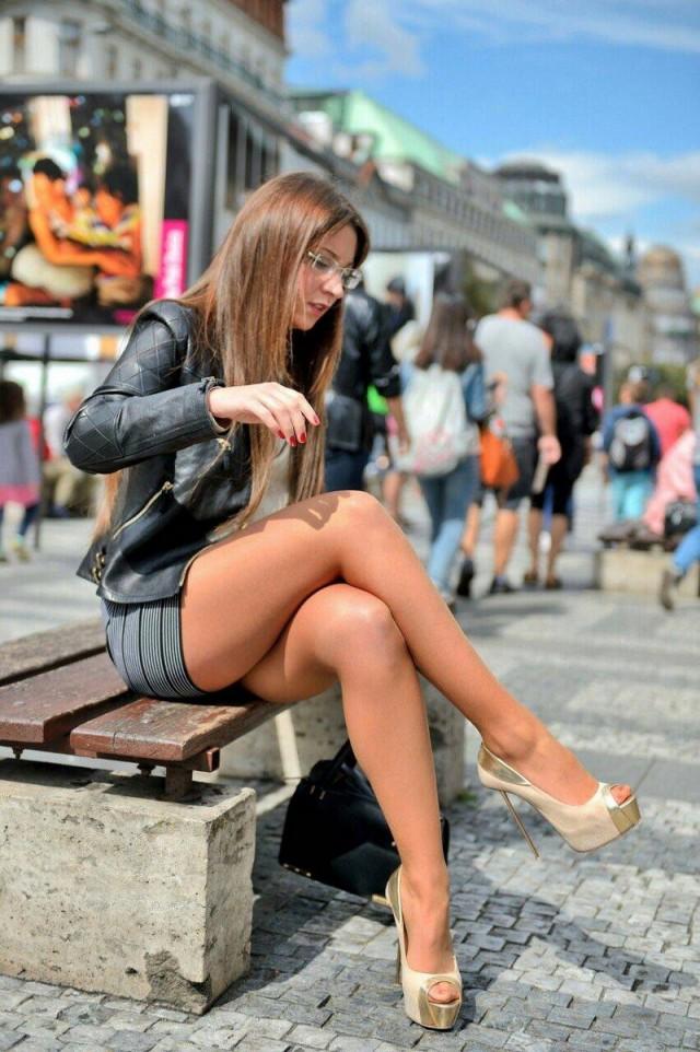 Смотреть онлайн бесплатно секс идя по улице