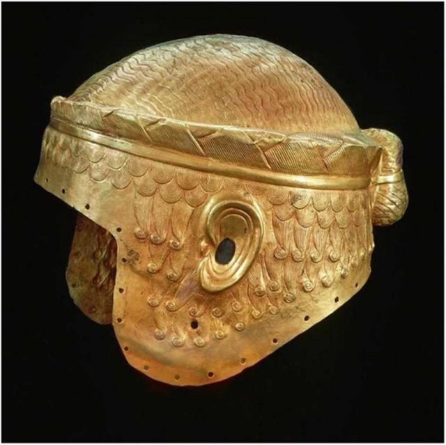 Загадка Золотого шлема. Мумии и скелеты. 22.